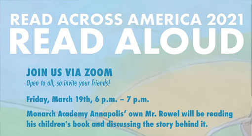 Event March 19, 2021: Monarch Academy Annapolis Host Virtual Book Reading Event for Read Across America